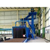 Wholesale Customized Alloy Wheel Blasting Machine , Blast Cleaning Machine For Steel Construction Material from china suppliers