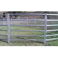 Wholesale cattle yard panels for sale @design by australia ,hot dipped galvanized cattle yard fencing 2.1m x 1.6m from china suppliers