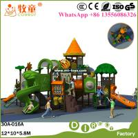Wholesale Kids Play Structure LLDPE Plastic Outdoor Play Equipment Playground for Theme Park from china suppliers