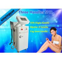 Wholesale Multi Function ND YAG SHR Elight IPL Hair Removal Machine with 3 Handles OEM / ODM from china suppliers