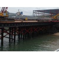 Wholesale Army Green Modular Steel Bridge Deck Large Size For Strong Working Platform from china suppliers