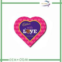 Wholesale Recyclable Wedding Favour Paper Heart Shaped Candy Box Eco Friendly from china suppliers
