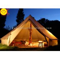 Wholesale Big 12 Persons Inflatable Tent Canvas Bell Tent 5 X 5M Waterproof For Wedding Party from china suppliers