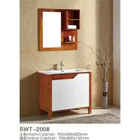Wholesale 16mm Oak / Plywood Ceramic 36 Inch Bathroom Vanity 2 Doors Without Drawer from china suppliers