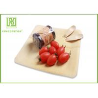 Wholesale Healthy Bamboo Sushi Plate , Compostable Bamboo Plates And Bowls With Logo from china suppliers