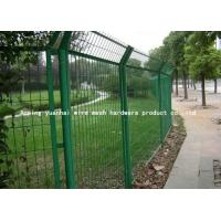 Wholesale Powder Coated Galvanised Steel Mesh Fence Panels For Highway 1800mmx3000mm from china suppliers