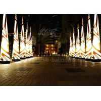 Wholesale 5m Oxford Cloth Inflatable Cone Color Changing Lighting For Event from china suppliers