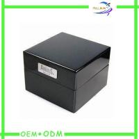Wholesale Embossed Logo Single Travel Watch Gift Boxes Foil Stamping OEM / ODM from china suppliers