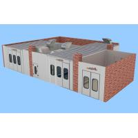 Wholesale Portable Auto Body Care Painting Station, Large Spray Booth with Diesel Heating energy from china suppliers