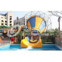 Wholesale Comercial Indoor Water Play Small Slide / Water Park Ride 100m3/Hr Small Tornado Water Slide from china suppliers