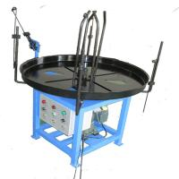 Wholesale Blue Painting Wire Decoiler Auxilliary Equipment For Spring Machine 200kg Loading from china suppliers