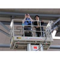 Wholesale Aluminum Mast Type Self Propelled Aerial Lift 6m For 2 Persons 480KG Capacity from china suppliers