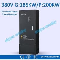 Wholesale 185kw 200kw Low Voltage frequency converter motor pump 50Hz/60Hz AC drive CNC Variable-Frequency Drive VFD AC-DC-AC from china suppliers