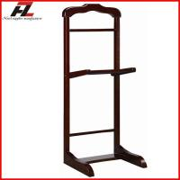 Wholesale Wooden Clothes Valet Stand wtih Shoes Bar from china suppliers