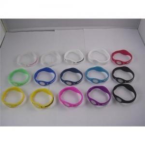 China Sport silicone bracelet ion band wristband power balance on sale