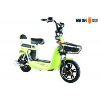 Quality Front Fork Electric Moped Scooter For Adults 14 Inches Motor for sale