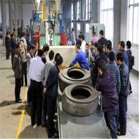 Wholesale Waste tire rubber recycling machine for making rubber powder from china suppliers