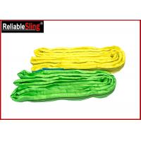 Wholesale High-Strength Polyester Yarn Color Code Polyester Lifting Slings Endless Cargo Slings from china suppliers