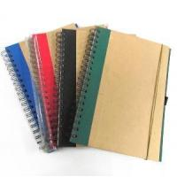 Wholesale Eco-Friendly Kraft Hardcover Spiral Notebook from china suppliers