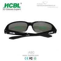 Wholesale Logo Printed IMAX 3D Glasses Black For 3D Digital Entertainment from china suppliers