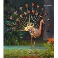Wholesale Solar Iron Peacock Garden Decorative Light from china suppliers