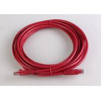 Buy cheap Solid and Stranded 24AWG 0.51mm Pure Copper Patch Cord Assemblies from wholesalers