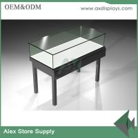 Quality Customized wood and metal jewelry display counter jewelry equipment used for shop for sale