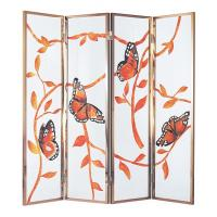 Wholesale Handmake Unique Decorative Glass Partition For Sliding Door , Movable from china suppliers