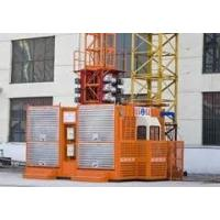 Wholesale Steady property reliability SCD200 / 200P double cages construction hoist elevator with 2T from china suppliers