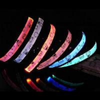 Wholesale LED luminous pet dog collar teddy XL random color from china suppliers