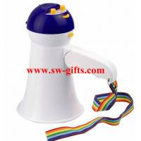 Wholesale New Arrival High Quality Mini Portable Megaphone Foldable Bullhorn Handheld Grip Loud Clear Voice Amplifier Loudspeaker from china suppliers