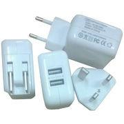 Wholesale 5V 2.1A Dual USB Wall Charger/Travel Charger from china suppliers