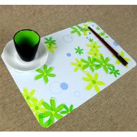 Wholesale Large Executive Custom Desk Pad Office Desk Mats With Flower Printed from china suppliers