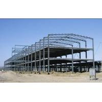 Buy cheap Green Paint Garage Steel Frame Lightweight Steel Structures- Green Buildings from wholesalers