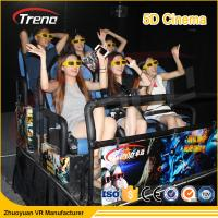 Wholesale 2DOF / 6DOF Roller Coast Ride Platform 5D Cinema Equipment VR Driving Simulator from china suppliers