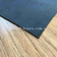 Wholesale 1mm Black Waterproofing Neoprene Fabric Roll For Inflatable Boat Raincoat Rubberized Cloth from china suppliers