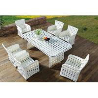 Wholesale PE rattan furniture, garden furniture, dining chair and table, #1203 from china suppliers