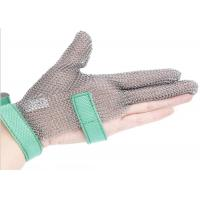 Wholesale Butcher Anti Cutting Stainless Steel Gloves With Metal Plates , High Strength from china suppliers