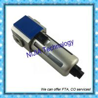 Quality GF200-06 / 08 GF300-10 GF300-15 Airtac Filter air source treatment Filtering grade 40μm or 5μm for sale