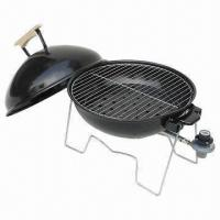 Wholesale 14-inch Round Tabletop Gas Grill, 46 x 36 x 42cm Assembly Size  from china suppliers