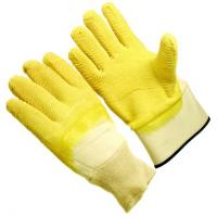 Wholesale Safety cuff with powder free jersey lining  Latex Coated Glove for women  RBJS from china suppliers