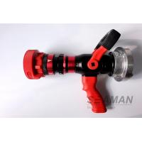Wholesale Automatic 4 Position High Pressure Fire Hose Nozzles Fire Pistol Adjustable Flow Rate from china suppliers