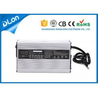 Wholesale CE &ROHS High efficiency 12v / 24v / 36v / 48v / 72v battery charger for electric pallet truck 25a to 6a from china suppliers