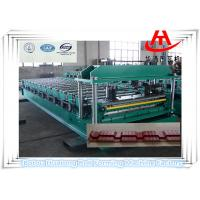 Wholesale High Speed Glazed Tile Roll Forming Machine For Warehouse , sheet metal from china suppliers