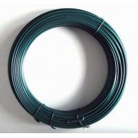 Wholesale Galvanised PVC Coated Line Wire 1.5mm - 3.8mm For Chain Link Fence from china suppliers