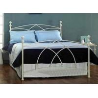 Wholesale Queen Size Metal Frame Bed Stainless Steel Bed Furniture For Living Room Luxurious from china suppliers