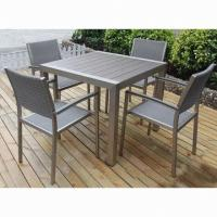 Wholesale Outdoor Dining Table Set, Suitable for Indoor and Outdoor Use from china suppliers