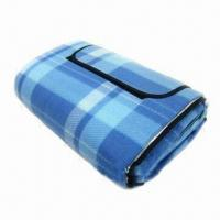 Wholesale Outdoor Beach Blanket, Foldable Picnic Mat/Foldable Beach Mat, Sized 150 x 150cm from china suppliers