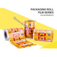 Wholesale Food Grade Plastic Lamination Printed Packaging Film For Small Tea Bags / Foods / Drinks from china suppliers