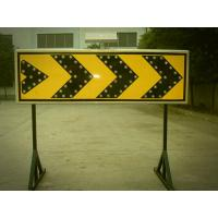 Wholesale Curve Guidance LED Flashing Arrow Board Customized Solar Road Sign 400×1200 mm from china suppliers